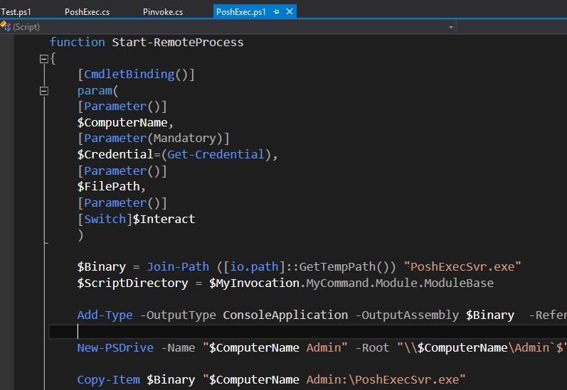 PowerShell Tools for Visual Studio 2015 - Visual Studio